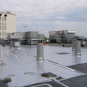 EPDM restore on a roof